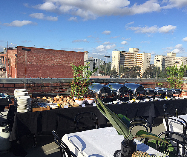 The Mission Caters Rooftop